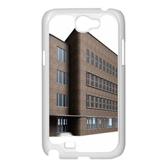Office Building Villa Rendering Samsung Galaxy Note 2 Case (White)