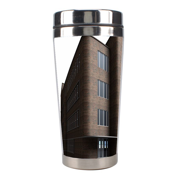 Office Building Villa Rendering Stainless Steel Travel Tumblers