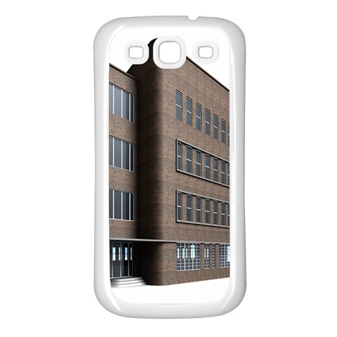 Office Building Villa Rendering Samsung Galaxy S3 Back Case (White)