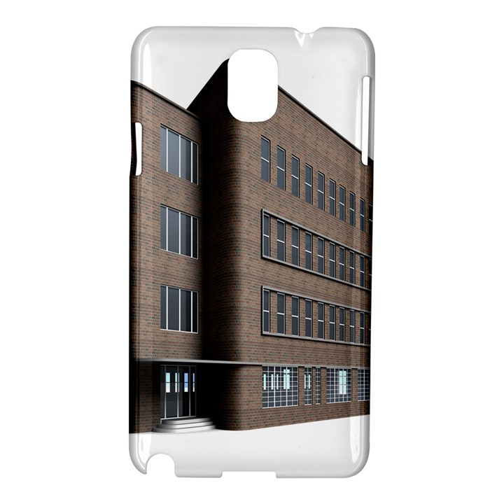 Office Building Villa Rendering Samsung Galaxy Note 3 N9005 Hardshell Case