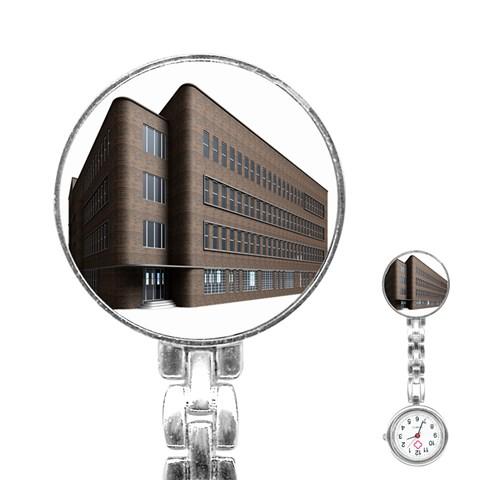 Office Building Villa Rendering Stainless Steel Nurses Watch