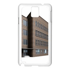 Office Building Villa Rendering Samsung Galaxy Note 3 N9005 Case (White)