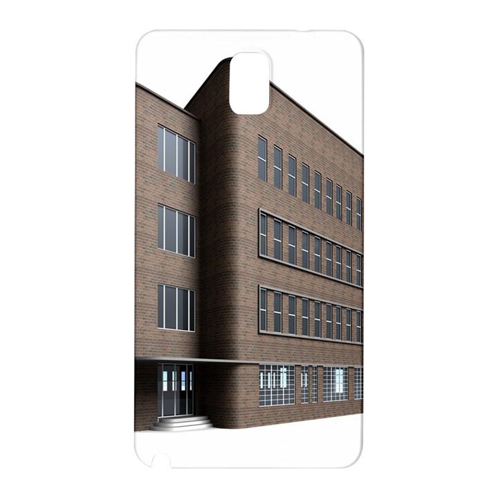 Office Building Villa Rendering Samsung Galaxy Note 3 N9005 Hardshell Back Case