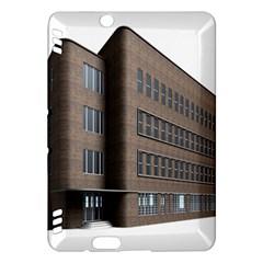 Office Building Villa Rendering Kindle Fire HDX Hardshell Case