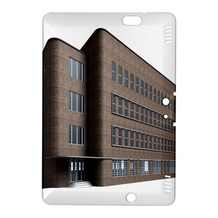 Office Building Villa Rendering Kindle Fire HDX 8.9  Hardshell Case