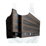Office Building Villa Rendering Full Print Recycle Bags (L)  Back