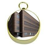 Office Building Villa Rendering Gold Compasses Front