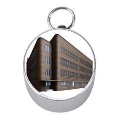 Office Building Villa Rendering Mini Silver Compasses