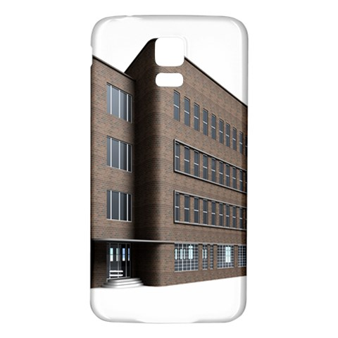 Office Building Villa Rendering Samsung Galaxy S5 Back Case (White)
