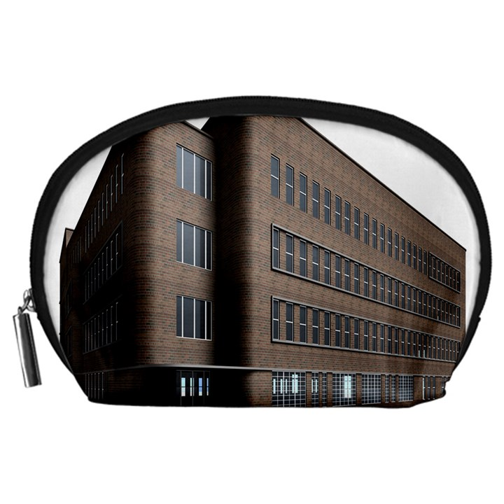 Office Building Villa Rendering Accessory Pouches (Large)