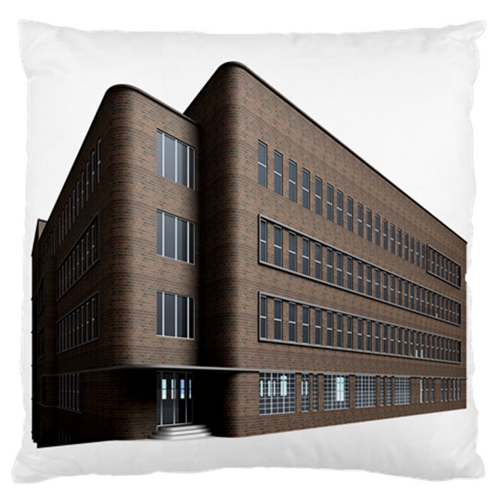 Office Building Villa Rendering Standard Flano Cushion Case (One Side)