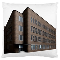 Office Building Villa Rendering Large Flano Cushion Case (Two Sides)