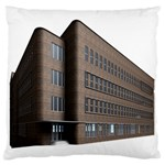 Office Building Villa Rendering Large Flano Cushion Case (Two Sides) Front