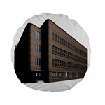 Office Building Villa Rendering Standard 15  Premium Flano Round Cushions Front