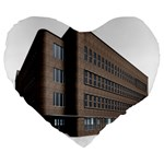 Office Building Villa Rendering Large 19  Premium Flano Heart Shape Cushions Front