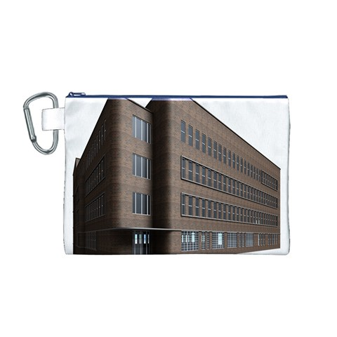 Office Building Villa Rendering Canvas Cosmetic Bag (M)