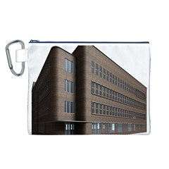 Office Building Villa Rendering Canvas Cosmetic Bag (L)