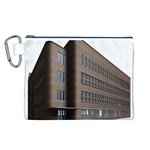 Office Building Villa Rendering Canvas Cosmetic Bag (L) Front