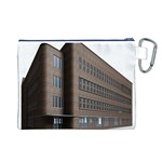 Office Building Villa Rendering Canvas Cosmetic Bag (L) Back