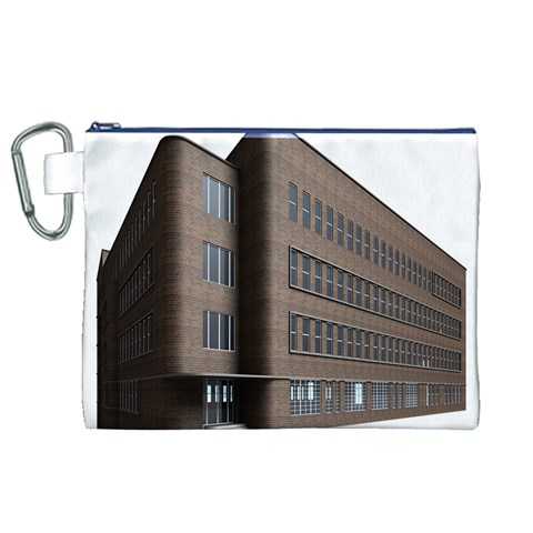 Office Building Villa Rendering Canvas Cosmetic Bag (XL)