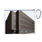 Office Building Villa Rendering Canvas Cosmetic Bag (XL) Back