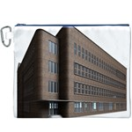 Office Building Villa Rendering Canvas Cosmetic Bag (XXXL) Front