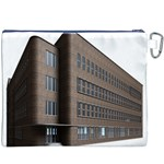 Office Building Villa Rendering Canvas Cosmetic Bag (XXXL) Back