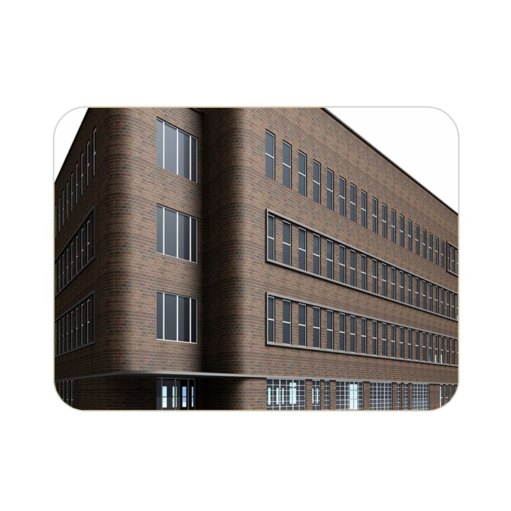 Office Building Villa Rendering Double Sided Flano Blanket (Mini)