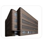 Office Building Villa Rendering Double Sided Flano Blanket (Medium)  60 x50 Blanket Front