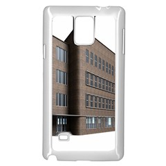Office Building Villa Rendering Samsung Galaxy Note 4 Case (White)