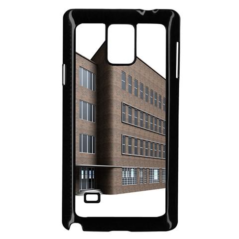 Office Building Villa Rendering Samsung Galaxy Note 4 Case (Black)