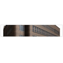 Office Building Villa Rendering Flano Scarf (Large)