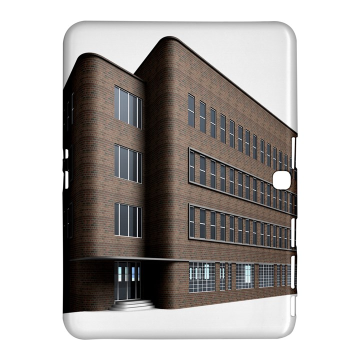 Office Building Villa Rendering Samsung Galaxy Tab 4 (10.1 ) Hardshell Case