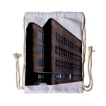 Office Building Villa Rendering Drawstring Bag (Small) Front