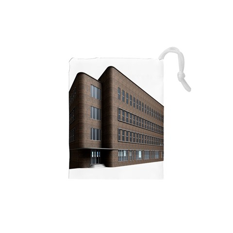 Office Building Villa Rendering Drawstring Pouches (XS)