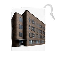 Office Building Villa Rendering Drawstring Pouches (Extra Large)