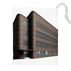 Office Building Villa Rendering Drawstring Pouches (XXL)