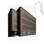 Office Building Villa Rendering Drawstring Pouches (XXL) Front