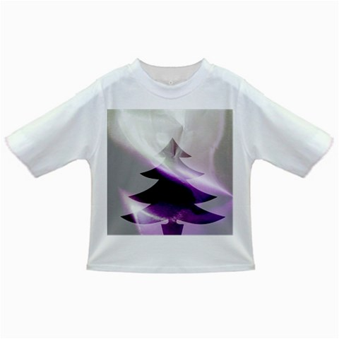 Purple Christmas Tree Infant/Toddler T-Shirts