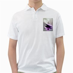 Purple Christmas Tree Golf Shirts