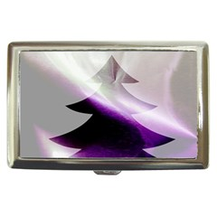 Purple Christmas Tree Cigarette Money Cases