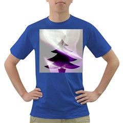 Purple Christmas Tree Dark T-Shirt