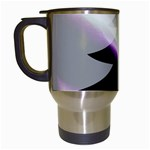 Purple Christmas Tree Travel Mugs (White) Left