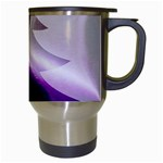Purple Christmas Tree Travel Mugs (White) Right