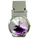 Purple Christmas Tree Money Clip Watches Front