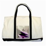 Purple Christmas Tree Two Tone Tote Bag Front