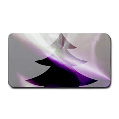 Purple Christmas Tree Medium Bar Mats