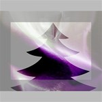Purple Christmas Tree Mini Canvas 7  x 5  7  x 5  x 0.875  Stretched Canvas