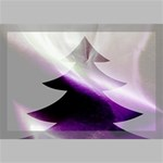 Purple Christmas Tree Canvas 18  x 12  18  x 12  x 0.875  Stretched Canvas