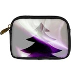 Purple Christmas Tree Digital Camera Cases Front